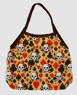 Skull Canvas bag- new yellow skull design